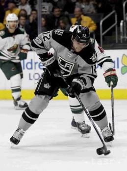 NHL: Gáborík zrejme nestihne začiatok prípravného kempu LA Kings