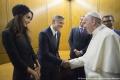 Richard Gere a George Clooney sa stretli vo Vatikáne s pápežom
