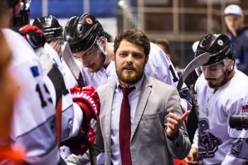 Víťazstvo v treťom finálovom zápase uniklo UMB Hockey Teamu o vlások