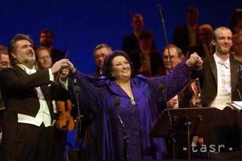 Španielska operná speváčka Montserrat Caballéová sa dožíva jubilea