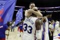 NBA: Covington hrdinom Philadelphie, Brooklyn zastavil sériu prehier