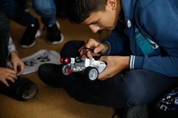 Podujatie Robotika a kódovanie navštívilo desiatku ZŠ na Slovensku
