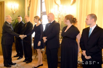 Prezident I. Gašparovič prijal víťazov súťaže Študentská osobnosť roka