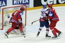 Finále MS 2012 v hokeji Rusko - Slovensko