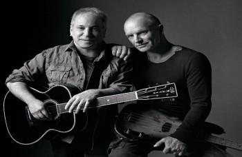 Spojenie dvoch legiend pop music, Sting a Paul Simon idú na turné