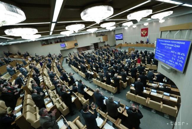 Ruský parlament prijal sporný protiteroristický zákon