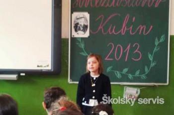 Recitačná súťaž Hviezdoslavov Kubín