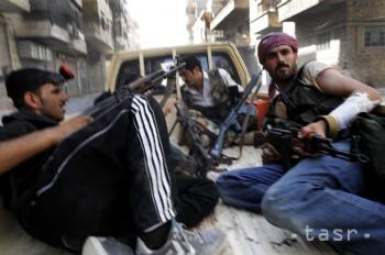 Z dobytého mesta Harastá vo východnej Ghúte odišli prví povstalci