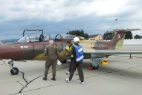 Súťaz o let stíhačkou na SIAF 2014 - mená víťazov