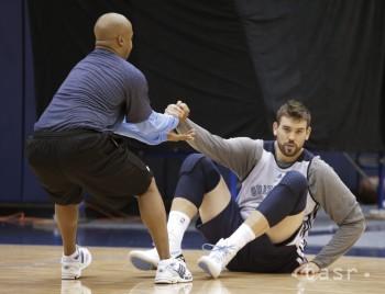 NBA: Gasol má zlomeninu v pravom chodidle, hrozí mu koniec sezóny