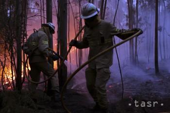 Lesný požiar v Andalúzii ohrozuje aj významný prírodný park