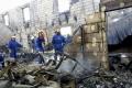 FOTO: Pri požiari v domove dôchodcov na Ukrajine zahynulo 17 ľudí