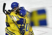 Švédi sú majstri sveta. Napínavé finále s Kanadou rozhodli až nájazdy