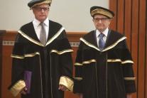 Bratislava inaugurácia Paneurópska VŠ rektor nový