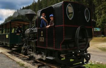 Čiernohronská železnica cez leto radí aj detské vozne