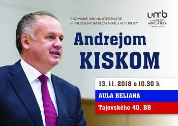A. Kiska víta vytvorenie komisie UMB, ktorá preverí rigorózne práce