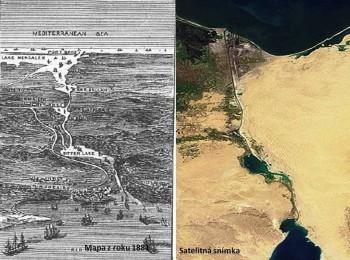 Suezský prieplav začali stavať pred 155 rokmi