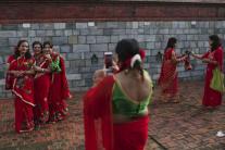 Sviatok Teej v Nepále