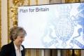 Mayovej prejav o brexite vyvolal doma i v EÚ protichodné reakcie