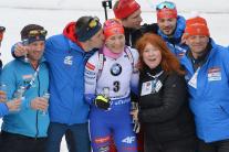 A. Kuzminová na posledných pretekoch