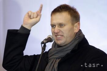 Ruský opozičný predstaviteľ Navaľnyj podal žalobu na Putina