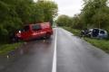 FOTO: Dodávka čelne narazila do osobného auta, žena nehodu neprežila