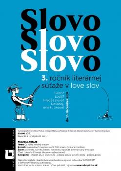 Hlási sa  3. ročník literárnej súťaže v love slov SLOVO 2017