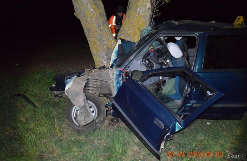 297922a7f Pri nehode neďaleko Levíc prišiel o život 74-ročný vodič Felicie