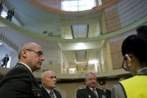 Minister spravodlivosti SR Tomáš Borec (vpravo) na