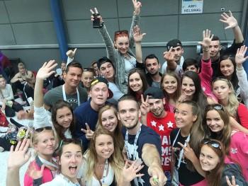 Študenti UKF reprezentovali Slovensko na Svetovej gymnaestráde