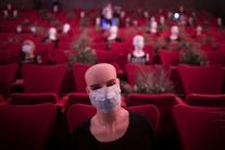 divadlo, masky, rúška