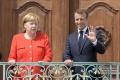 Merkelová a Macron podpísali novú nemecko-francúzsku zmluvu