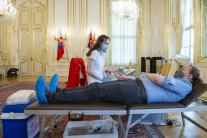 Prezidentská kvapka krvi v Prezidentskom paláci
