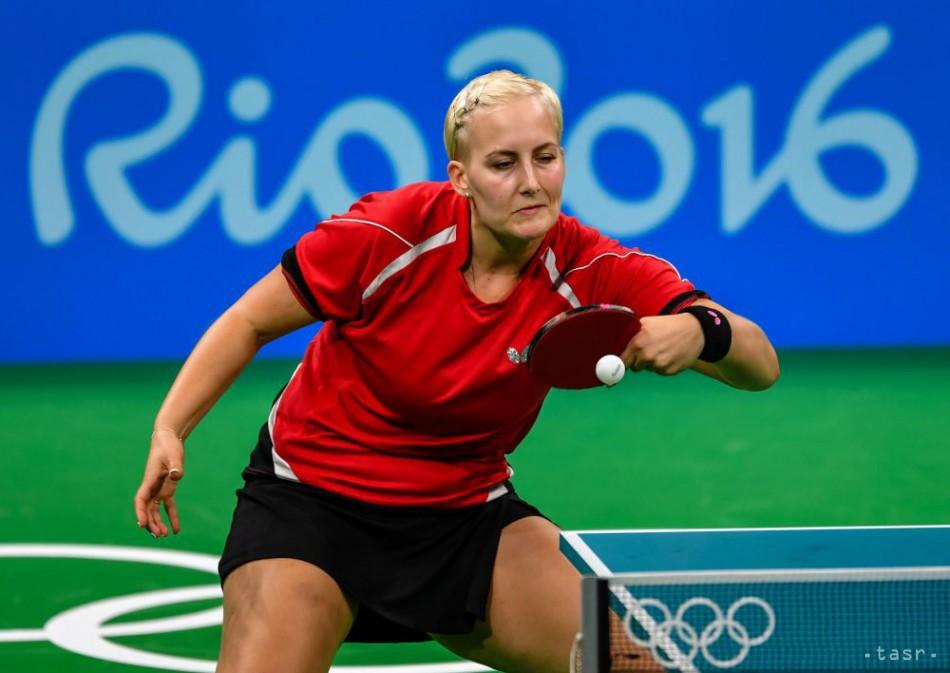 9aea1b6a1 Stolný tenis: Balážová na turnaji v Antibes nepostúpila zo skupiny