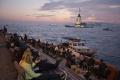 Ruská vojenská loď sa zrazila s nákladným plavidlom a potopila sa