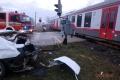 Na 2 železničných priecestiach sa minulý týždeň zrazili vlaky a autá