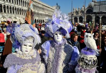 Benátsky karneval je najslávnejším z európskych podujatí tohto druhu