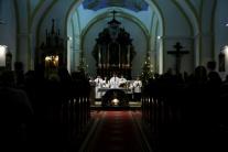Polnočné sväté omše na Slovensku