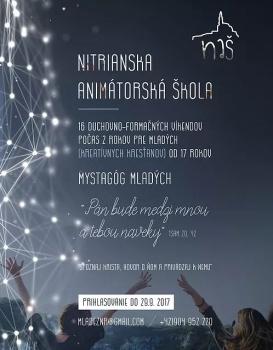 Nitrianska diecéza otvára nový projekt animátorskej školy