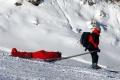 Horskí záchranári pomáhali zranenému 73-ročnému skialpinistovi