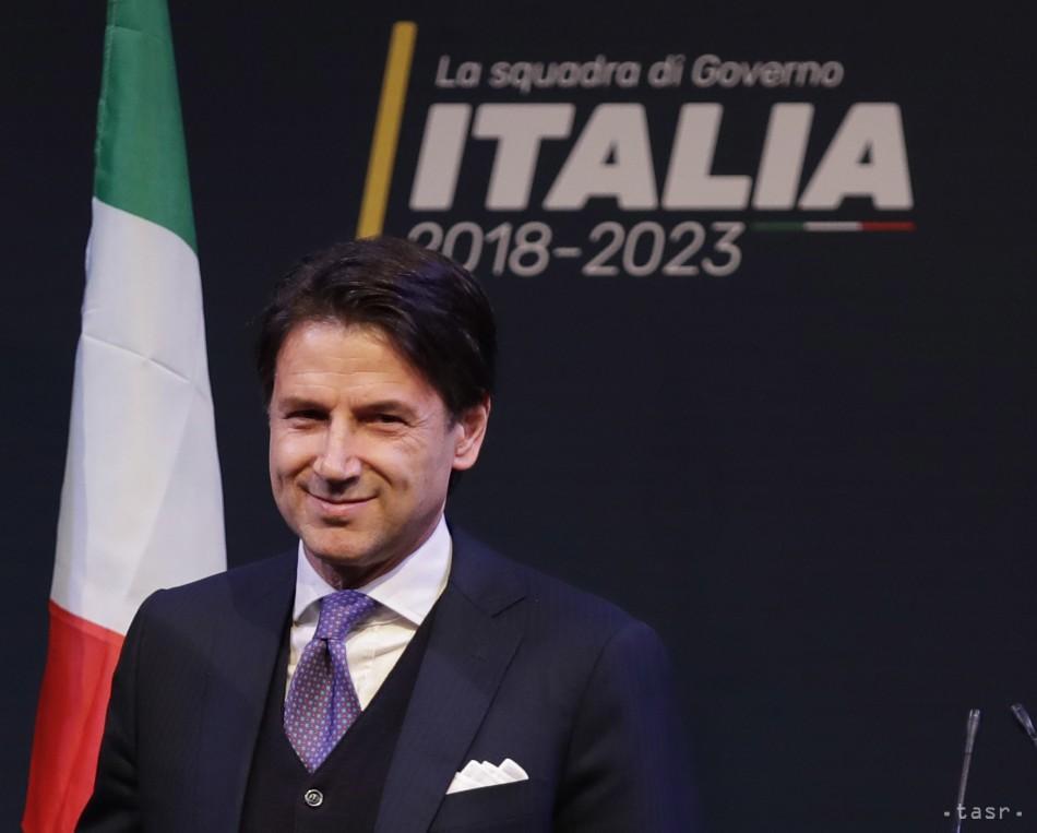 Taliansky prezident poveril  zostavením novej vlády Giuseppeho Conteho