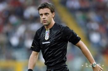 Zápas medzi Slovinskom a Slovenskom povedie Talian Rizzoli
