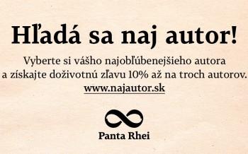 Hľadá sa NAJ AUTOR slovenských čitateľov