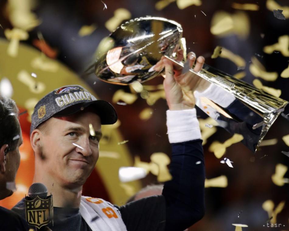 Jubilejný Super Bowl ovládol Denver,Manning ukončil kariéru víťazstvom