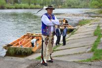 Červený Kláštor, pltníci, odomknutie vody, Dunajca
