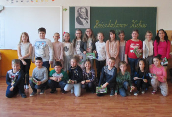 Školské kolo Hviezdoslavovho Kubína v ZŠ Kráľovský Chlmec