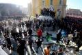 V Bukurešti demonštrovali za zjednotenie s Moldavskom