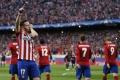 Atletico Madrid vyhralo v prvom dueli štvrťfinále pohára nad Eibarom