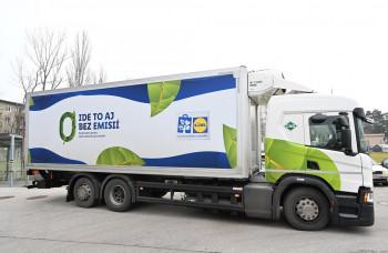 LIDL rozširuje flotilu ekologických kamiónov