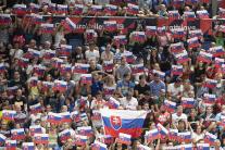 Osemfinálový zápas Slovensko - Taliansko
